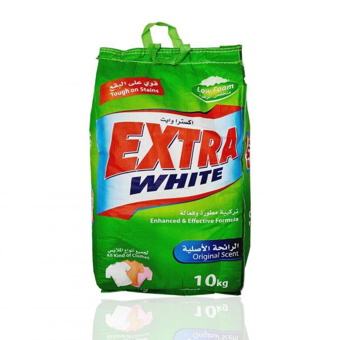 صابون بودرة اكسترا وايت منخفض الرغوة 10 ك